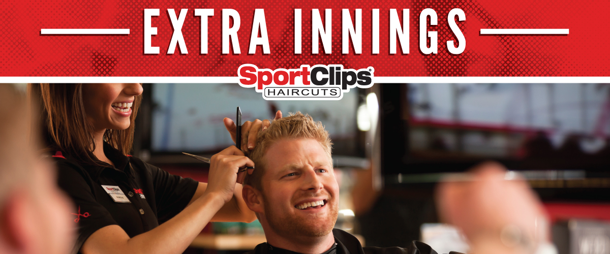 The Sport Clips Haircuts of Mission Viejo  Extra Innings Offerings